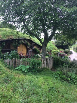 One of the Hobbit holes