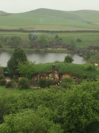 View of another Hobbit hole - this was Sam's (played by Sean Astin).